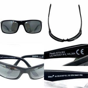 Maui Jim Peahi Polarized Sunglasses Black 202-02